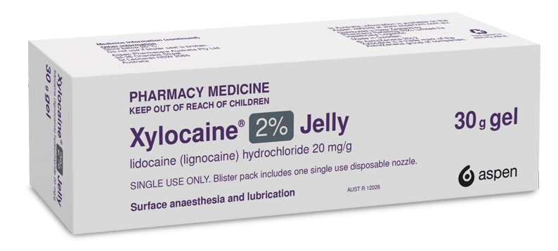 Packshot of Xylocaine 2% Jelly for Pain Relief