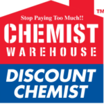 The Chemist Warehouse logo.