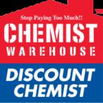 The Chemist Warehouse logo.